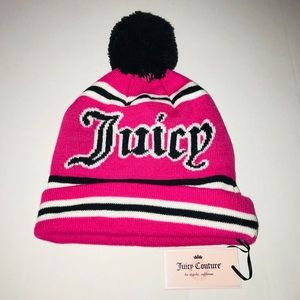 Juicy Couture Hat Pink NWT